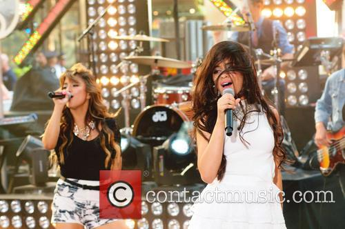 Fifth Harmony performs on Today Show concert series.