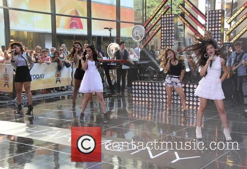 Lauren Jauregu, Camilla Cabello, Dinah Jane Hansen, Normani Hamilton, Ally Brooke Hernandez and Fifth Harmony 5