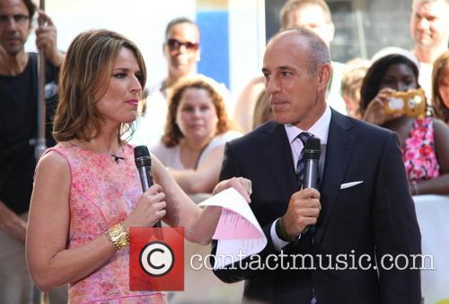 Savannah Guthrie and Matt Lauer 1