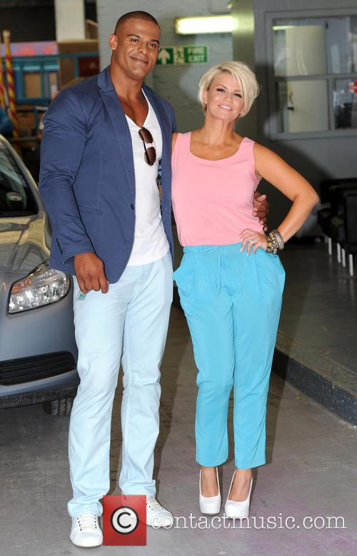 Kerry Katona and George Kay 1