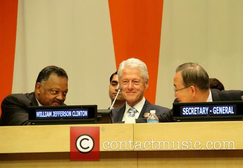 Jesse Jackson, Bill Clinton and Ban Ki Moon 3