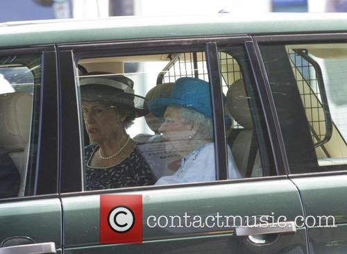 Queen Elizabeth II travelling to Lord's Cricket Ground