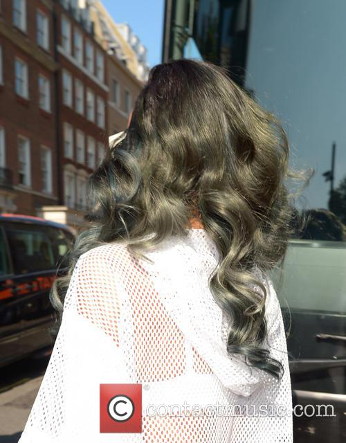 Rihanna seen leaving her hotel