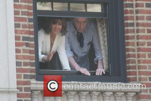 Jennifer Aniston on the set of her new film 'Squirrels to the Nuts'