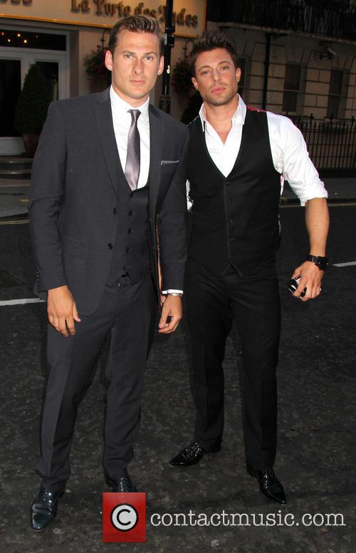 Lee Ryan and Duncan James 2