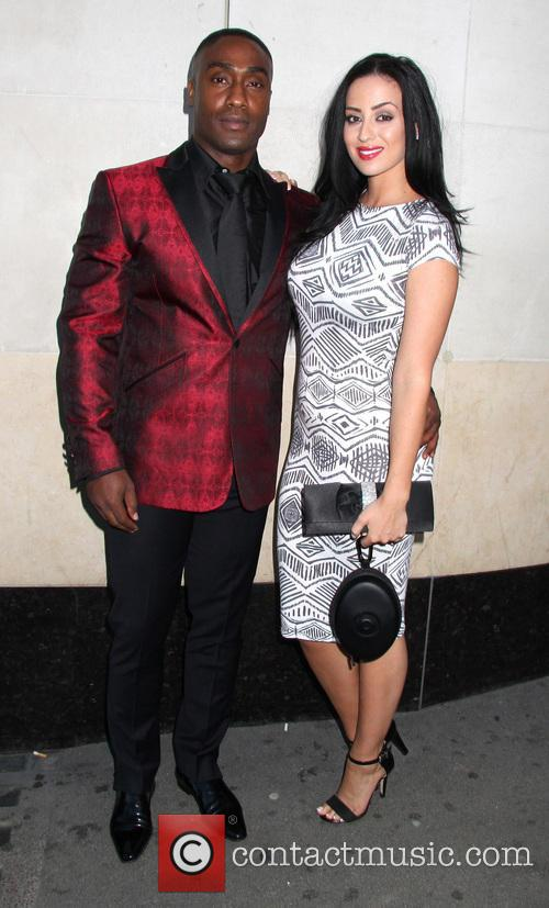 Simon Webbe and Maria Kouka 2