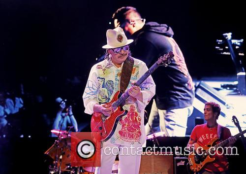 Carlos Santana, Manchester Arena
