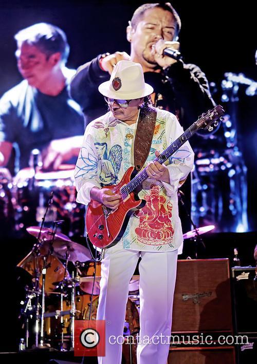 Carlos Santana 40