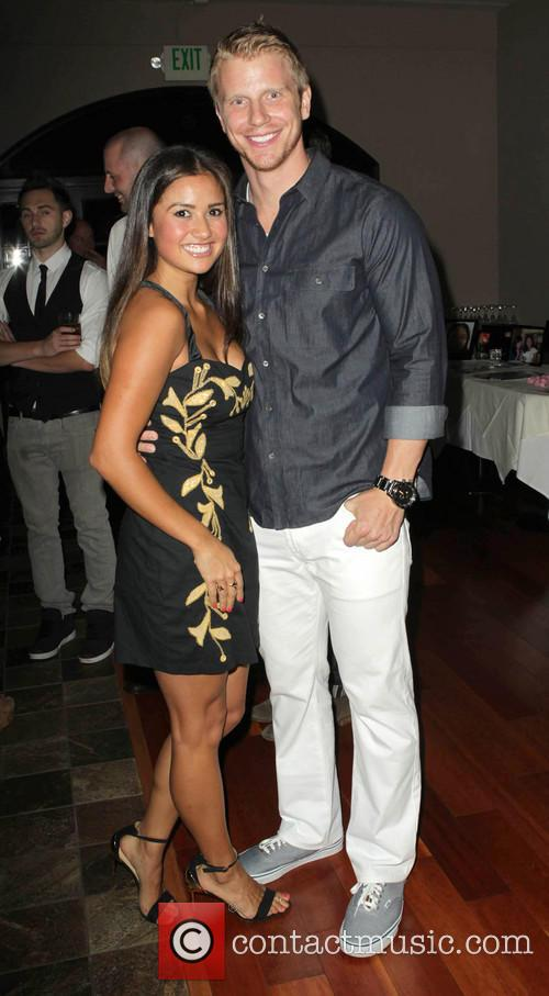 Catherine Giudici and Sean Lowe 1