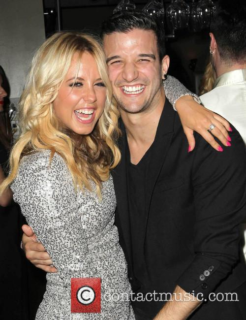 Chelsie Hightower and Mark Ballas