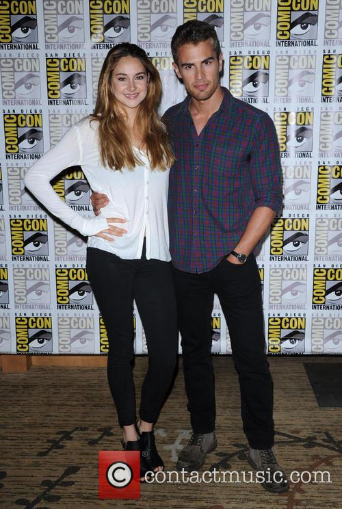 Shailene Woodley + Theo James 2