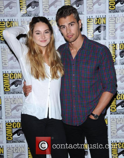 Shailene Woodley + Theo James 1