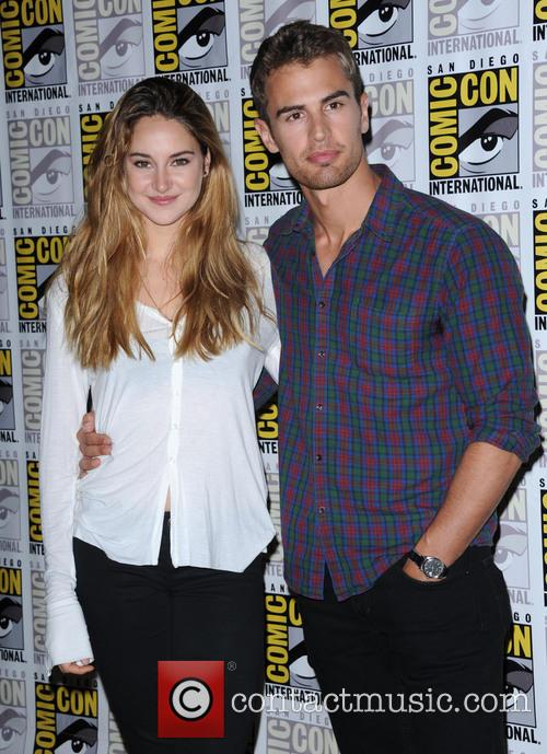 Shailene Woodley + Theo James 5