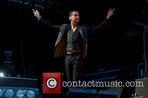 Depeche Mode perform live