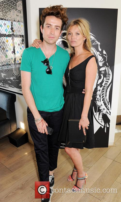 Nick Grimshaw and Kate Moss 2