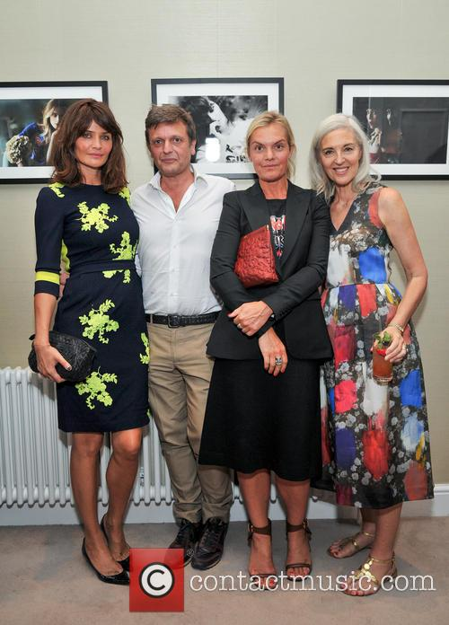 Ceos Of Matchesfashion.com, Tom Chapman, Ruth Chapman and Helena Christensen