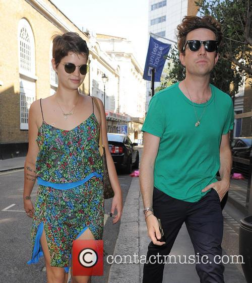 Pixie Geldof and Nick Grimshaw 2