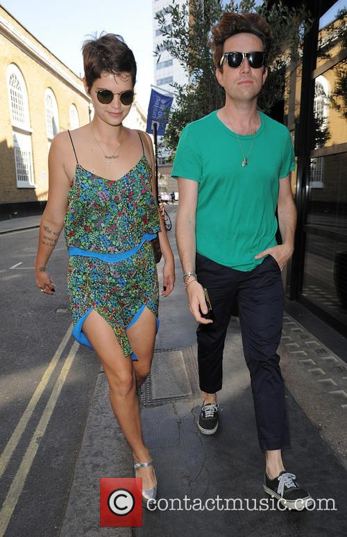 Pixie Geldof and Nick Grimshaw 3