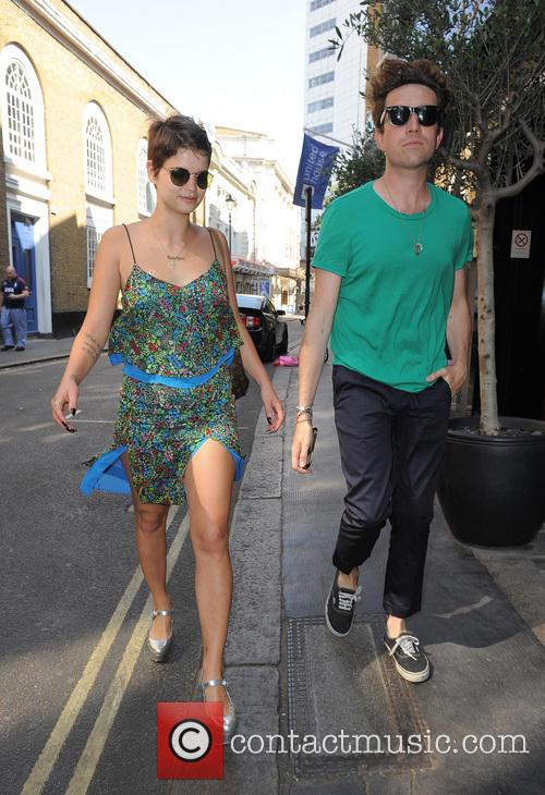 Pixie Geldof and Nick Grimshaw 4