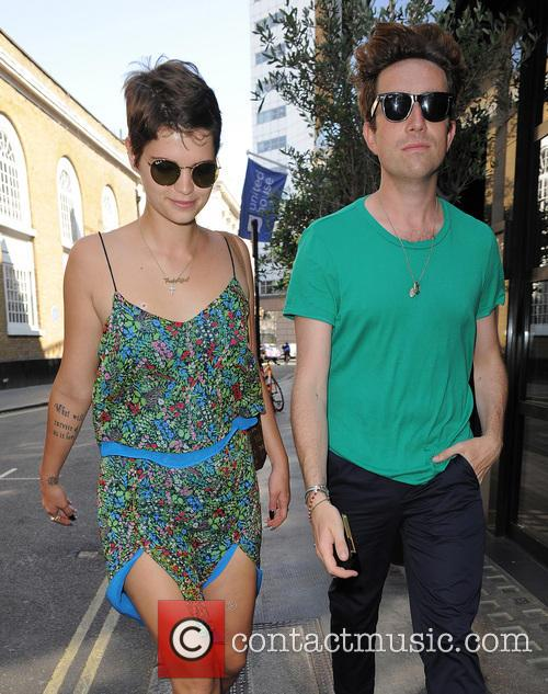 Pixie Geldof and Nick Grimshaw 5