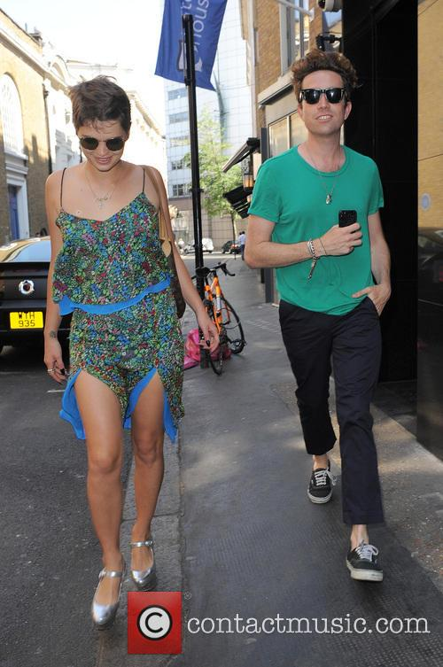 Pixie Geldof and Nick Grimshaw 6