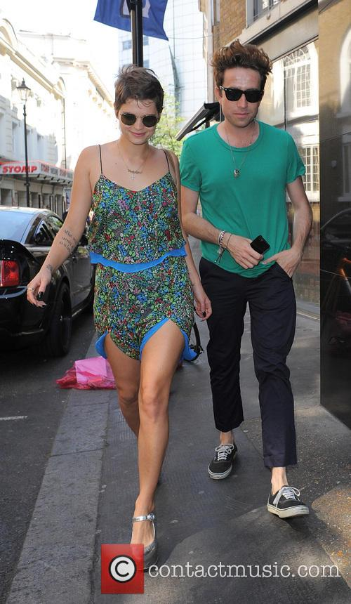 Pixie Geldof and Nick Grimshaw 1