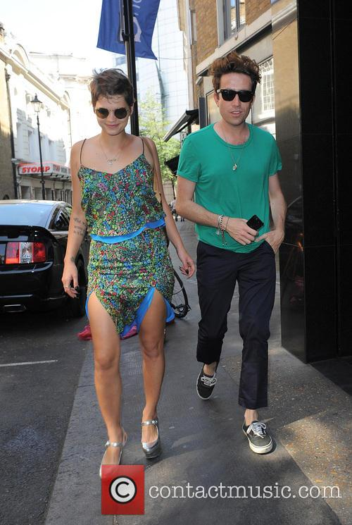 Pixie Geldof and Nick Grimshaw 9