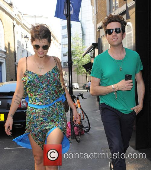 Pixie Geldof and Nick Grimshaw 10