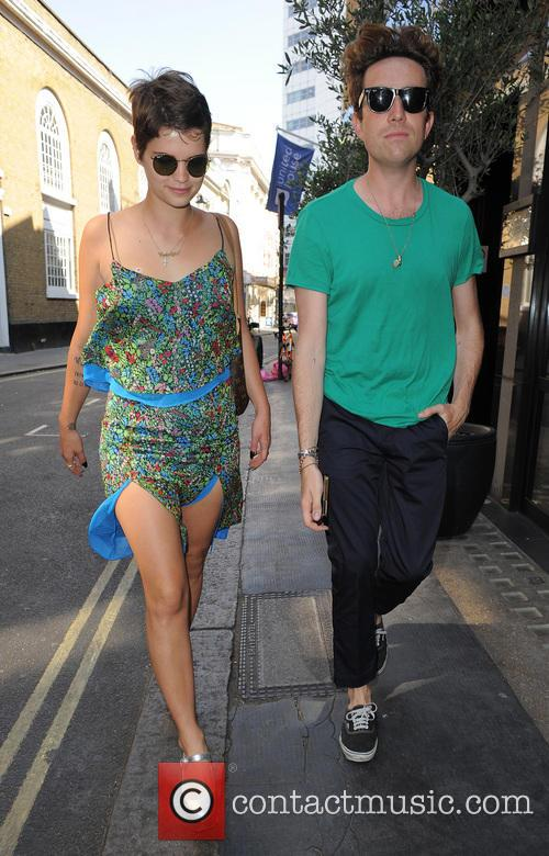 Pixie Geldof and Nick Grimshaw 13