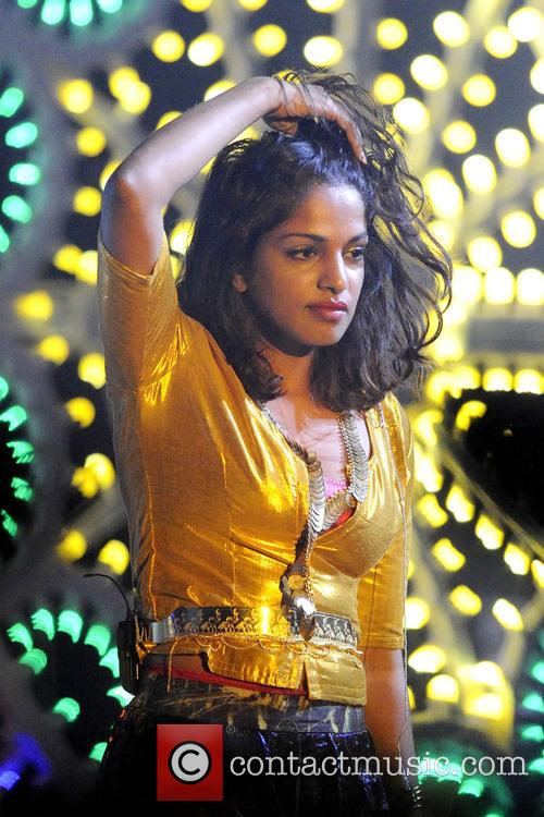 M.I.A Performing