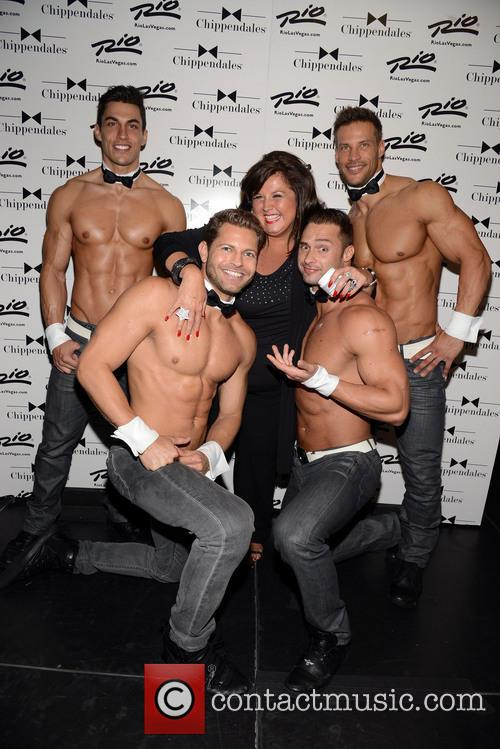 Abby Lee Miller and Chippendales 2