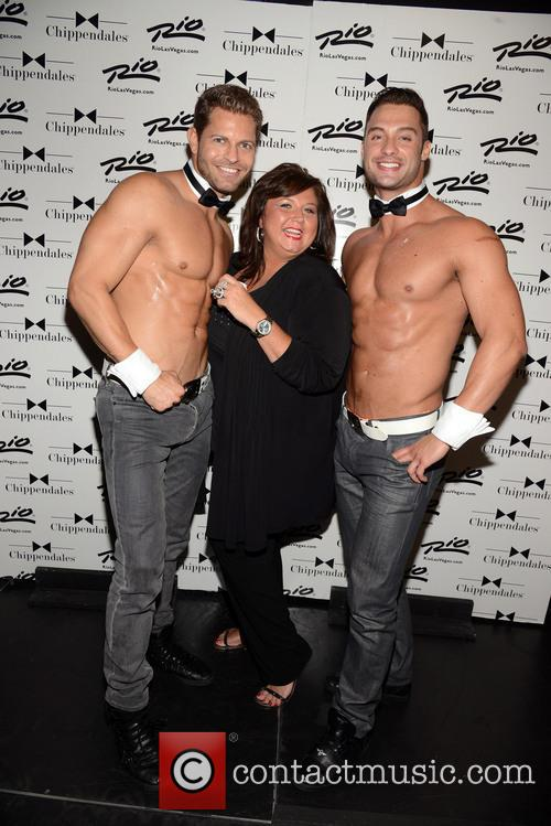 Abby Lee Miller and Chippendales 4