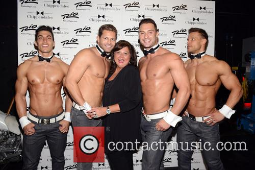 Abby Lee Miller and Chippendales 5