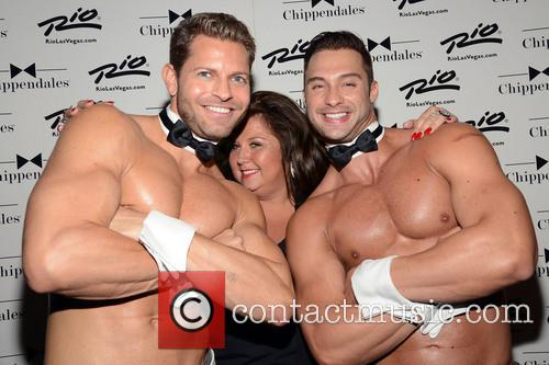 Abby Lee Miller and Chippendales 6