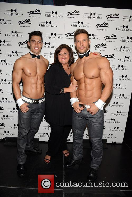 Abby Lee Miller and Chippendales 7