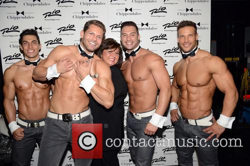 Abby Lee Miller and Chippendales 8