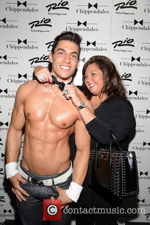 Abby Lee Miller of Dance Moms At Chippendales...