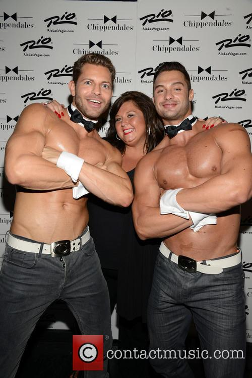 Abby Lee Miller and Chippendales 9