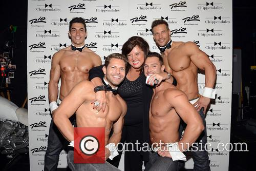 Abby Lee Miller and Chippendales 11