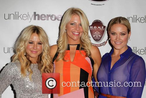 Chelsie Hightower, Erica Greve, Peta Murgatroyd, HOME Restaurant