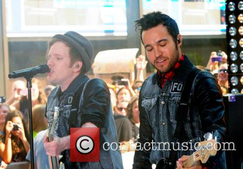 Fall Out Boy, Patrick Stump and Pete Wentz 1