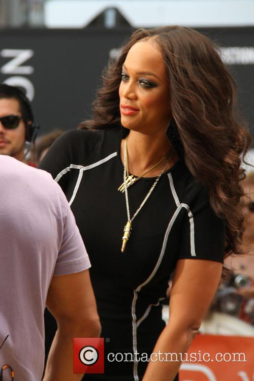 tyra banks celebrities at the grove to 3772821