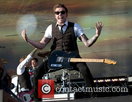 Danny Jones and Mcfly 3