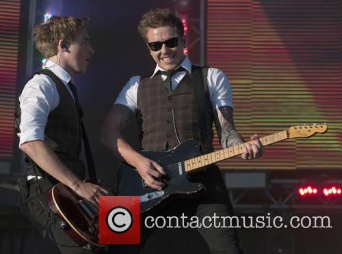 Dougie Poynter, Danny Jones and Mcfly 2