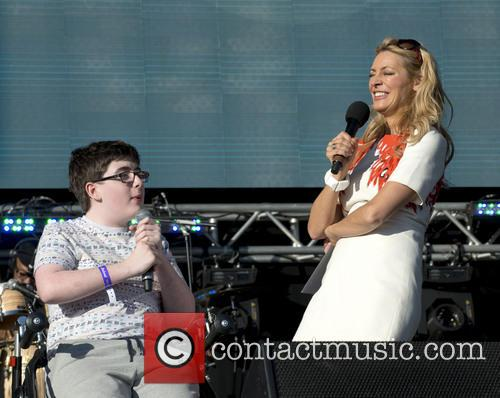 Jack Carroll and Tess Daly 2