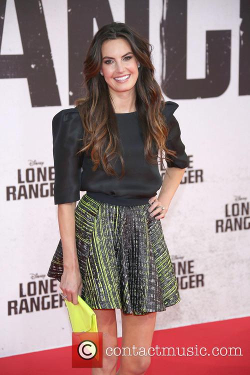Premiere of 'Lone Ranger' at Cinestar Movie Theater...