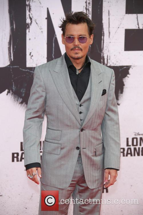 johnny depp premiere of lone ranger at 3772717