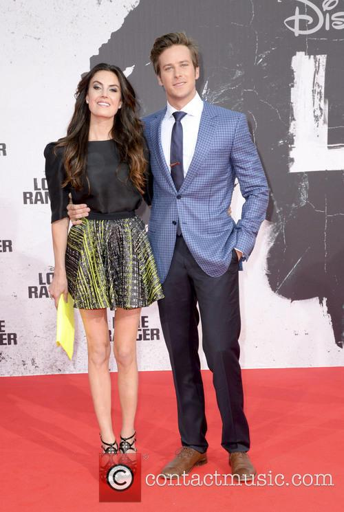 Armie Hammer and Elisabeth Chamber 6