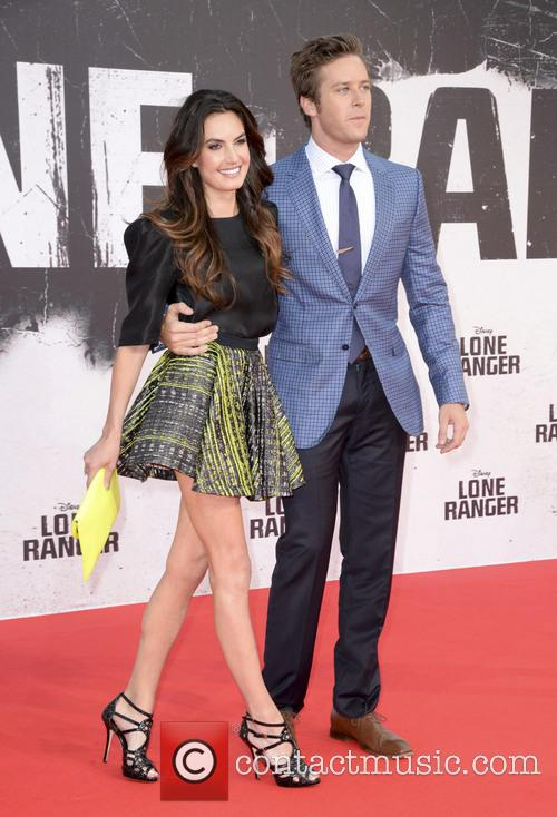 Armie Hammer and Elisabeth Chamber 8