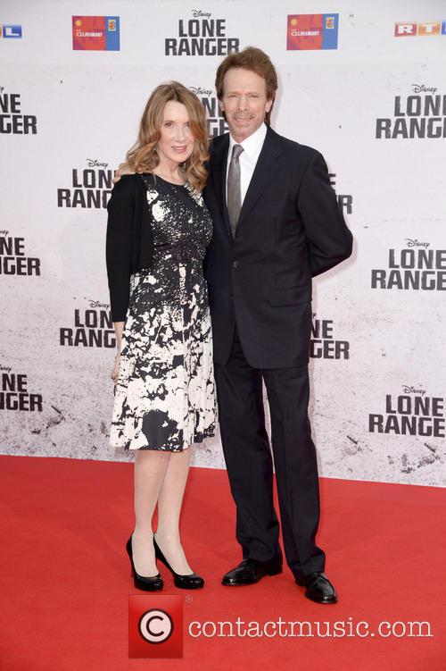 Jerry Bruckheimer and Linda Bruckheimer 1
